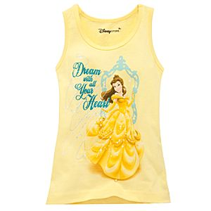Organic Belle Tank Top for Girls