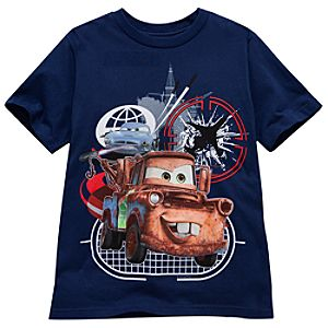 McMissile and Mater Cars 2 Tee for Boys -- Made With Organic Cotton