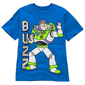 Organic Buzz Lightyear Tee for Boys
