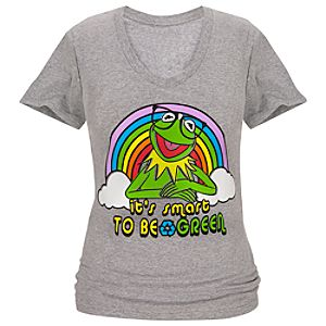 V-Neck Kermit Tee for Women -- Made With Organic Cotton