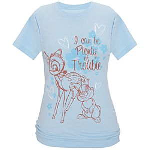 Organic Thumper and Bambi Tee for Women