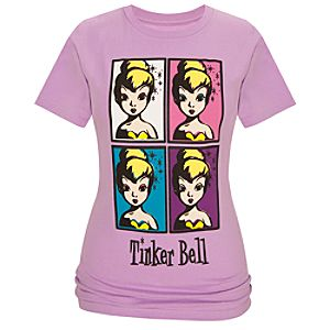 Organic Pop Art Tinker Bell Tee for Women