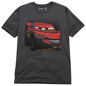 Lightning McQueen Cars 2 Tee for Men -- Made With Organic Cotton