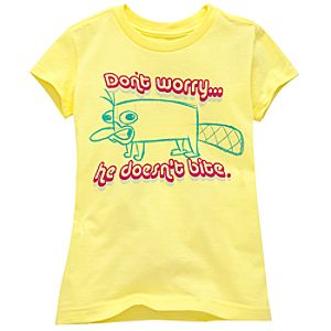 Organic Dont Worry . . . Perry Tee for Girls