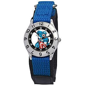 Classic Time Teacher Captain America Watch for Boys