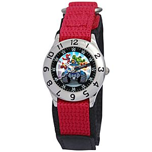 Classic Time Teacher Super Hero Squad Watch for Boys