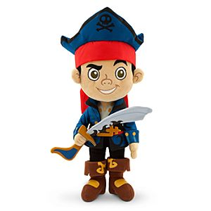 Captain Jake Plush - Jake and the Never Land Pirates - Small - 12