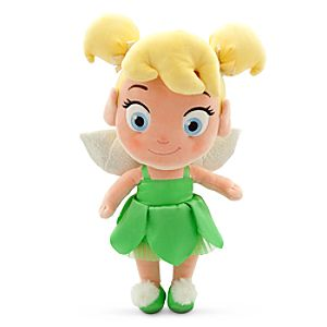 Toddler Tinker Bell Plush Doll - Peter Pan - Small - 13''
