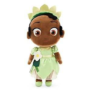 Toddler Tiana Plush Doll - Princess and the Frog - Small - 12