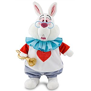 White Rabbit Plush - Alice in Wonderland - Medium - 15