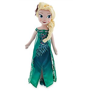 Elsa Plush Doll - Frozen Fever - Medium - 19