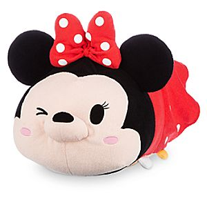 Minnie Mouse Tsum Tsum Plush - Red - Large - 19