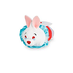 White Rabbit Tsum Tsum Plush - Alice in Wonderland - Mini - 3 1/2