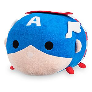 Captain America Tsum Tsum Plush - Large - 17