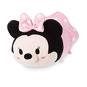 Minnie Mouse Tsum Tsum Plush - Pink - Medium - 12
