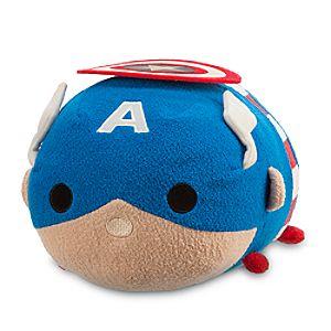 Captain America Tsum Tsum Plush  - Medium - 11