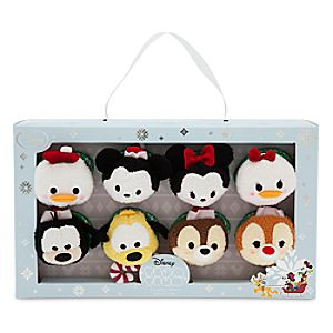 Mickey Mouse and Friends Tsum Tsum Plush Holiday Set - Mini - 3 1/2