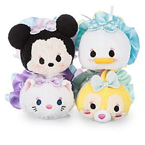 Minnie Mouse and Friends Dressy Tsum Tsum Plush Set - Mini - 3 1/2
