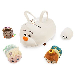 Olaf Tsum Tsum Plush Set - Small Bag - 9 - Plus 4 Frozen Minis - 3 1/2