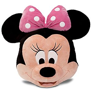 Minnie Mouse Plush Pillow - Pink