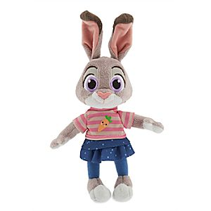 Judy Hopps Plush - Zootopia - Mini Bean Bag - 9''