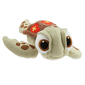 Squirt Plush - Finding Nemo - Mini Bean Bag - 7 1/2