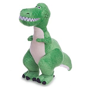 Rex Plush - Toy Story - Mini Bean Bag - 8