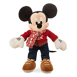 Mickey Mouse Holiday Plush - Medium - 15