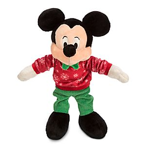 Mickey Mouse Holiday Plush - Mini Bean Bag - 9