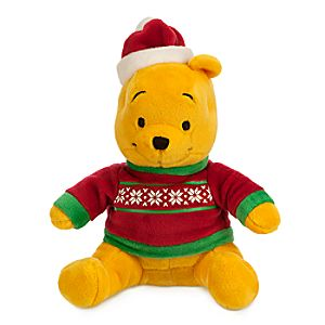 Winnie the Pooh Holiday Plush - Mini Bean Bag - 7