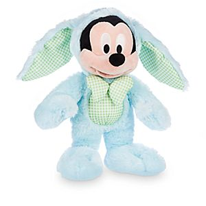 Mickey Mouse Easter Bunny Plush - 12 1/2