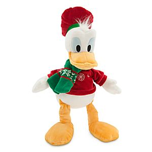 Donald Duck Holiday Plush - Medium - 17