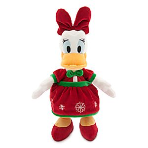 Daisy Duck Holiday Plush - Medium - 18''