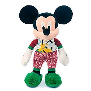 Mickey Mouse Holiday Pajamas Plush - Medium - 17