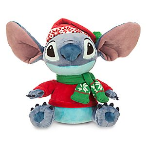 Stitch Holiday Plush - Small - 11