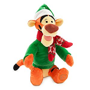 Tigger Holiday Plush - Small - 12