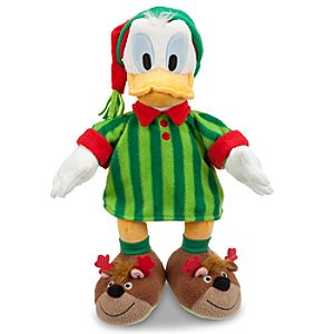 Donald Duck Plush - Holiday Pajamas - 16