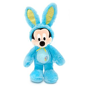 Mickey Mouse Plush Bunny - 17 - Blue