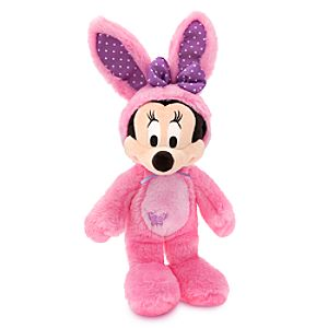 Minnie Mouse Plush Bunny - 17 - Pink