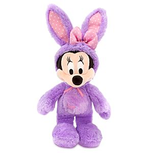 Minnie Mouse Plush Bunny - 17 - Purple