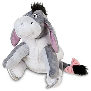2011 Ice Skating Eeyore Plush Toy -- 13 H