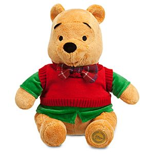 Winnie the Pooh Plush - Holiday - 12
