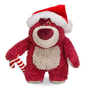 Lotso Holiday Plush - Toy Story 3 - Mini Bean Bag - 7