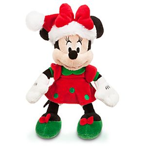 Minnie Mouse Mini Bean Bag Plush - Holiday - 10