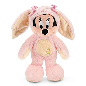Minnie Mouse Plush Easter Bunny - 12