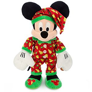 Mickey Mouse Plush - Holiday Pajamas - Medium - 15