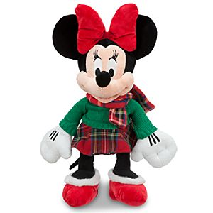 Minnie Mouse Plush - Holiday - 17""