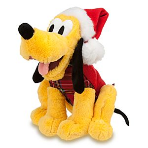 Pluto Plush - Holiday - 12""