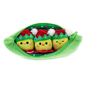 3 Peas-in-a-Pod Plush - Toy Story - Holiday - Mini Bean Bag - 8