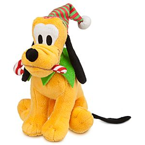 Pluto Mini Bean Bag Plush - Holiday - 7